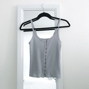 ☆ AE • Button up tank